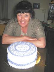 Buttercream Course, Session 2, Buttercream cake, Maree Hendry (Carol's Cakes & Classes, Broken Hill) Tags: cakeclass cakedecoratingcourse buttercreamcake