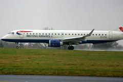 G-LCYM Embraer ERJ-190-100-SR BA Cityflyer at London Southend Airport (lee_klass) Tags: londoncityairport sen departing diversion cfe erj190 embraer190 lcy southendairport e190 eglc ejet erj190100 bacityflyer egmc londonsouthendairport glcym lcydiversion