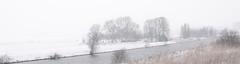 Reitdiep nabij Dorkwerderbrug (WOfoto) Tags: winter white snow netherlands sneeuw nederland groningen wit reitdiep 35mmnikkor 35mmf18 dorkwerd d5200 wofoto dorkwerderbrug ehwoltersweg nikond5200 evertharmwoltersweg