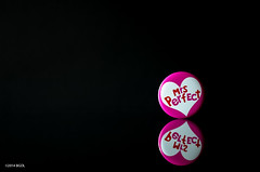 45 ~ 365 (BGDL) Tags: reflection love pin badge amore tabletop valentinesday niftyfifty nikond7000 lightroom5 captureyour365 nikkor50mm118g cy365 bgdlmrsperfect