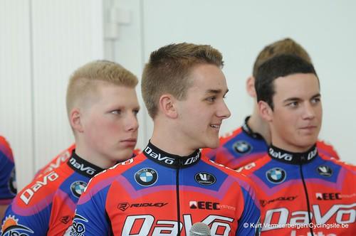 Ploegvoorstelling Davo Cycling Team (156)