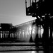 Pier Silhouette 3 BW