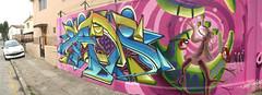 En Viña del Mar (Painters.) Tags: painters zade zade1 graffitiviñadelmar pianters