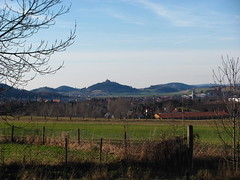 view (germancute) Tags: nature germany landscape thringen thuringia electricity mast landschaft germancute