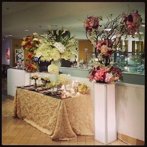 #Bloomingdales #Registry #Event #Westchester #Wedding #flowers #tieaknot