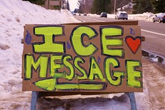 SOS Protect Our Water Bodies on the Ice 9.2014 (leslieamsterdam1) Tags: nomine badriver penokeehills lakesuperiorchippewa