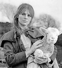 Julie Christie as Bathsheba Everdene in Thomas Hardy's Far From the Madding Crowd (Doc Kazi) Tags: movie heroine thomashardy farfromthemaddingcrowd oldversion juliechristieactress adaptationnovel