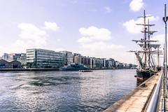 DUBLIN PORT RIVERFEST 2014 - MORGENSTER (infomatique) Tags: europe tallships dublindocklands dublinport northwall williammurphy streetsofdublin infomatique dublindocklands2014infomatique