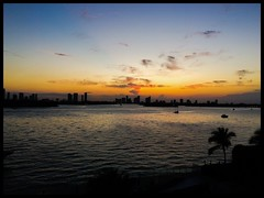 Miami Sunset (claudia_sullivan) Tags: 1000 mirador phonar looking4light nationlooking4light