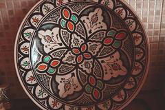 The North African Kitchen (DML) Tags: art kitchen de table cuisine traditional plate plat algerian artisanat morrocan marrocain