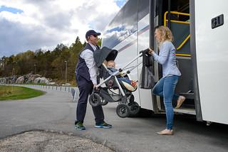 AKT Bussreise med barnevogn