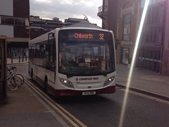 Probably not Chilworth (bobsmithgl100) Tags: bus surrey hbe alexander dennis guildford route32 northstreet enviro200 sk15 compasstravel sk15hbe