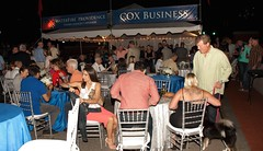 Cox Business Reception Tent