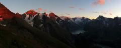 Abstieg vom Hohen Tenn 3368m (ernst.weberhofer) Tags: sunset sonnenuntergang johannisberg bärenkopf mooserboden hoheriffl groseswiesbachhorn glockerin hocheiser maxhirschlweg fürthermoaralm