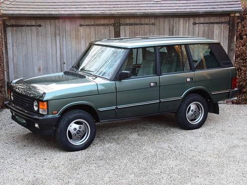 Range Rover Vogue EFI (1986).