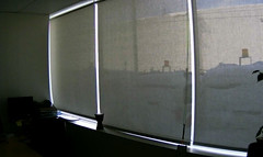 Curtains (~ Lone Wadi ~) Tags: curtains windows office darkened indoors dull boring mundane obscured
