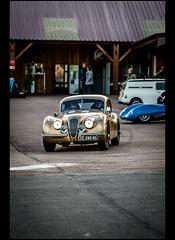 Jaguar XK 140 Coupé (Laurent DUCHENE) Tags: journéesdautomne 2016 lesecuyers jaguar xk 140 coupé