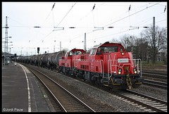 Northrail Voith Gravita Oberhausen (Jordi Pauw) Tags: northrail voith gravita br260 ketelwagens diesel dieselloc oberhausen sud osterfeld ruhrgebied canon 1000d