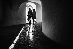 Rundetårn, Copenhagen (Bo Hvidt) Tags: fujifilmxt2 xt2 fujinonxf23mmf2rwr xf23mm bohvidt blackwhite bw blackandwhite monochrome nik nikcollection silverefex rundetårn copenhagen