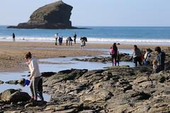 MRP_7352 (preedyphotos) Tags: cornwall kernow portreath beach coast northcornihcoast rocks tidesout walkingonbthebeach beachwalking outdoors exercise sand martinpreedy canon eos1dx
