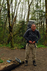 Dad Backpacking Tiger Mountain (Sotosoroto) Tags: forest washington hiking tigermountain dayhike