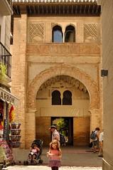 Granada : Corral del Carbn / Portada - ( before 1336 )  3/3 (Pantchoa) Tags: door espaa andaluca spain puerta nikon granada nikkor andalusia portada entrace d90 corraldelcarbn alfunduqalgidida 18105mmf3556 rememberthatmomentlevel1 alhndiganueva