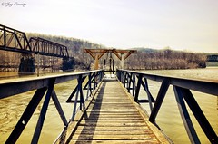 Freeport, PA (JayCass84) Tags: camera wood bridge trees fish tree nature water beautiful rural river landscape landscapes fishing woods flickr pennsylvania awesome bridges freeport bait natureshots natureshot rurallandscape rurallandscapes instagram instagramapp