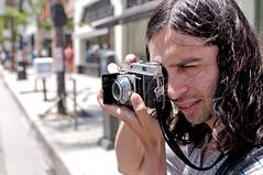 Shooting a Kodak Film Camera (Lorne Thomas) Tags: california film losangeles nikon kodak filmcamera pasadena potographer nikkor2870f28 nikon2870f28 nikond300