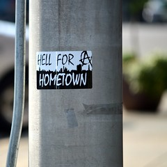 Local Sentiment ? (Donald Lee Pardue) Tags: anarchy bumpersticker sanfordnorthcarolina