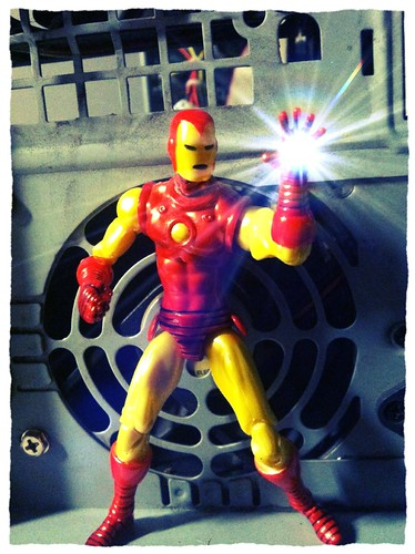 Avengers week brings us The Invincible Iron Man (Tony stark)