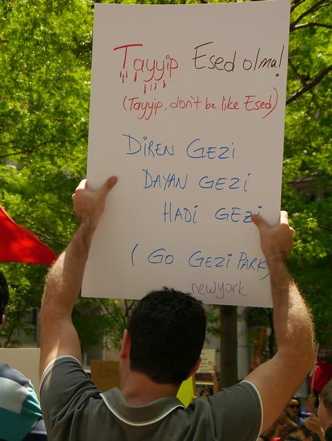 #OccupyGeziNYC