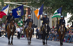 nypd mounted (NY Photoguy) Tags: life street 2001 nyc flowers blue light tower fountain wall america fire death lights photo fight memorial war downtown remember photographer silent sad time manhattan flag south awesome famous towers north 911 picture police