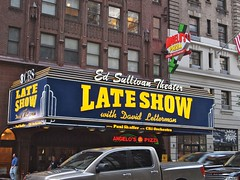 Late Show | Ed Sullivan Theater (travelontheside) Tags: nyc newyorkcity ny newyork manhattan broadway lateshow letterman cbs davidletterman lateshowwithdavidletterman edsullivantheater