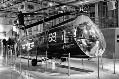 Piasecki HUP Retriever (Eric Kilby) Tags: nyc bw museum us blackwhite navy retriever helicopter 1949 ussintrepid hup piasecki
