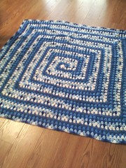 Kay Witwer (The Crochet Crowd®) Tags: square mikey blanket afghan granny crochetcrowd neverendingafghans