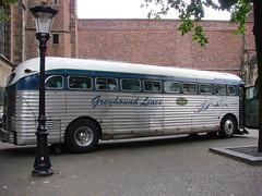 Greyhound Bus (indigo_jones) Tags: wedding greyhound holland bus classic netherlands vintage utrecht transport nederland rental surprise americana domplein greyhoundbus