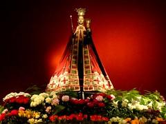 Zoete Lieve Vrouw van Den Bosch (Gerda Le Blanc) Tags: statue maria religion decoration stjanscathedralshertogenboschflowers