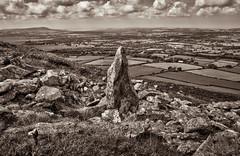 Bluestone Carn Menyn (Matt Bigwood) Tags: monochrome sepia wales landscape lumix toned quarry bluestone menyn carn gh2 mattbigwood