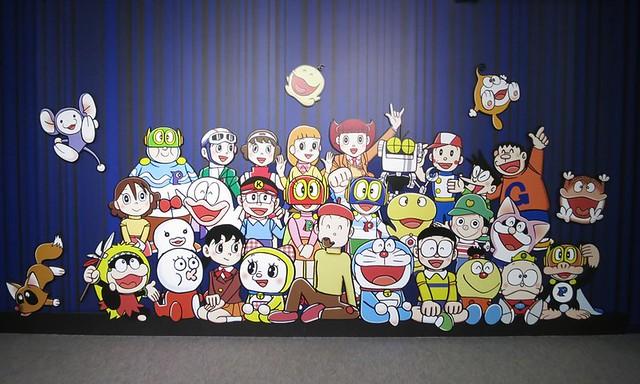 東京タワーでドラえもんに会える生誕80周年記念「藤子・F・不二雄展」の写真