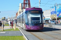 Flexity 016 (PD3.) Tags: bus beach buses square pier south north transport central tram lancashire trams blackpool pleasure 016 talbot fleetwood psv pcv bombardier flyde