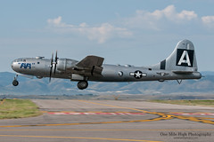 """Fifi"" (One Mile High Photography) Tags: history airplane colorado aviation unitedstatesofamerica planes fifi allrightsreserved broomfield planespotting militaryaircraft boeingb29superfortress vintageaircraft worldwariiaircraft commemorativ"