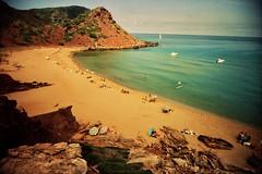 Cala Pilar, Menorca (santisss) Tags: pilar fuji 100 vivitar ultra menorca cala sensia expiredfilm caducado wideslim