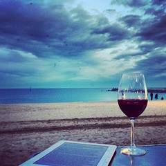 #barcelona #beach #kindle