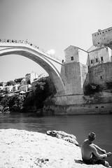 Old bridge, Mostar (Oroku1) Tags: old bridge river war mostar bosnia islam empire ottoman reconstruction neretva balkan