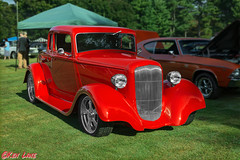 Vintage Tin Car Show Hot Rod