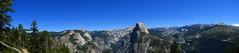 The half dome (filippo rome) Tags: autostitch panorama usa unitedstates yosemite statiuniti usanationalpark