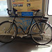 My rental bike on the BART train