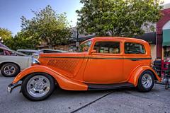 23rd Annual Street Rods Forever Car Show - Historic Downtown Monrovia (dmentd) Tags: ford sedan tudor hotrod 1934 streetrod