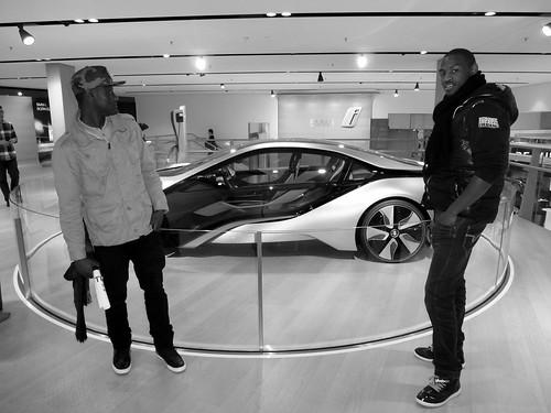Avec Massa, BMW Welt, Münich, Allemagne