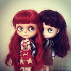 little grumpy sisters ...